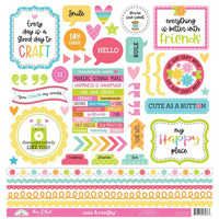 Doodlebug - This & That Cardstock Stickers 12