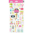 Doodlebug - Cardstock Stickers, Cute & Crafty Icons