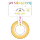 Doodlebug - Cute & Crafty, Washi Tape 15mmX11m, You Make Me Happy