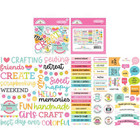 Doodlebug - Cute & Crafty, Odds & Ends Chit Chat Die-Cuts, 85 osaa