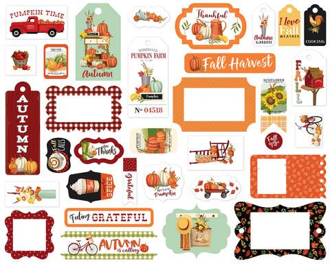 Carta Bella - Welcome Autumn, Frames & Tags, Leikekuvia, 33 kpl