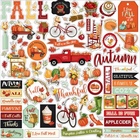 Carta Bella - Welcome Autumn, Element Sticker 12