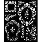 Stamperia - Stencil 20x25cm, Alice Frames