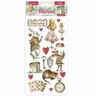 Stamperia - Alice In Wonderland, Chipboard