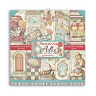 Stamperia - Alice Through the Looking Glass, Paper Pack 6