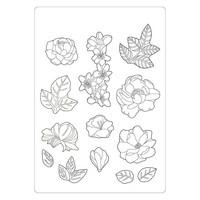 Stamperia - Celebration, Soft Mould, Muotti, A5, Flowers
