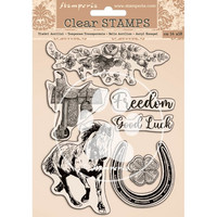 Stamperia - Romantic Horses, Clear Stamps, Leimasetti
