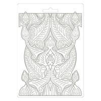 Stamperia - Romantic Horses, Soft Mould, Muotti, A5, Saddle Pattern