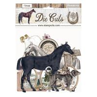 Stamperia - Romantic Horses, Die Cuts, 39osaa