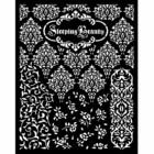 Stamperia - Sleeping Beauty, Stencil 20x25cm, Textures