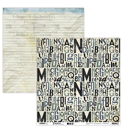 Studio Light - Scrap Letters Planner Essentials nr.27, 12