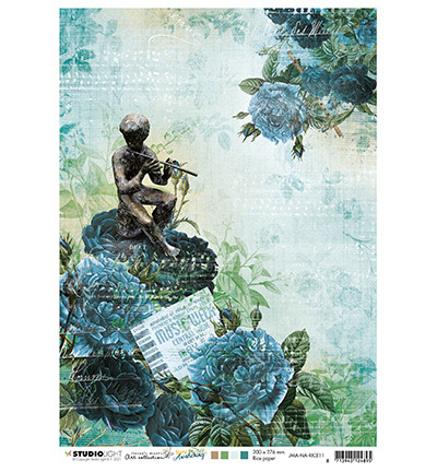 Studio Light - New Awakening nr.11, Jenine`s Mindful, Rice Paper