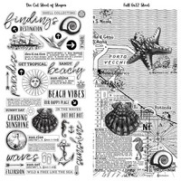 49 And Market - Vintage Artistry Beached, Washi Tape, 2 arkkia