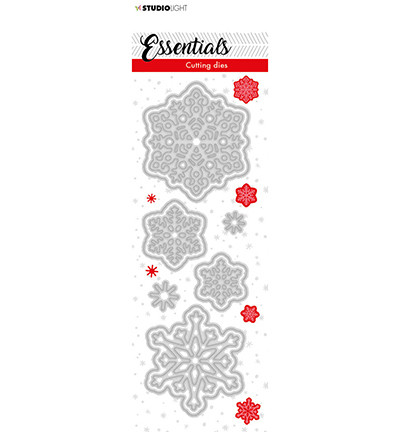 Studio Light - Cutting Die Essentials nr.65, Stanssisetti, Christmas Small Snowflakes 1
