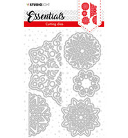 Studio Light - Cutting Die Essentials nr.64, Stanssisetti, Christmas Large snowflakes