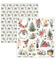 Studio Light - Scrap Christmas Collection nr.66, 12