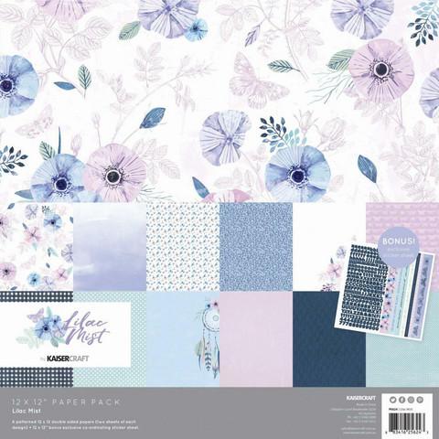 Kaisercraft - Lilac Mist, Paperikko, 12