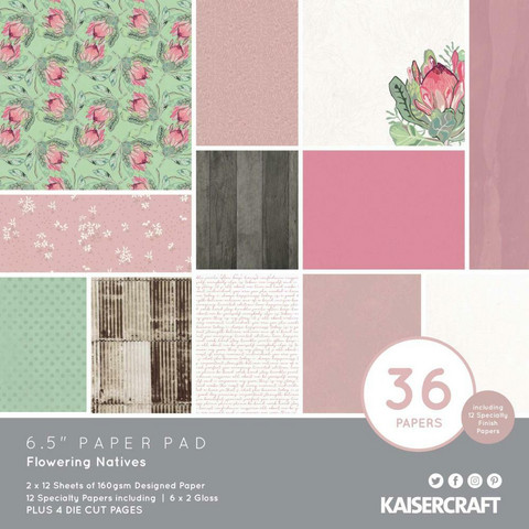 Kaisercraft - Flowering Natives, Paperikko, 6.5