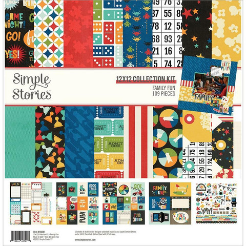 Simple Stories - Family Fun Collection Kit 12