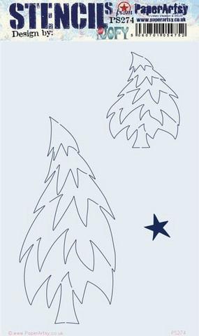 PaperArtsy - Stencil 274, Sapluuna
