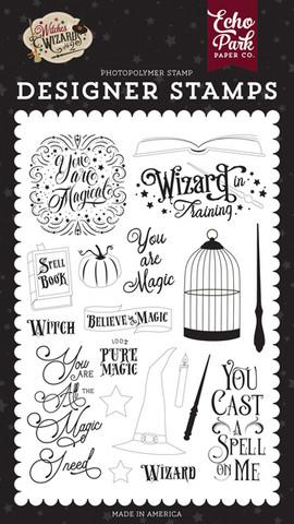 Echo Park - Witches & Wizards No. 2, Leimasetti, You Are Magic