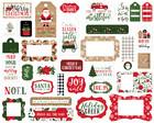 Echo Park - Jingle All The Way Frames & Tags, Leikekuvia, 33 kpl
