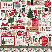 Echo Park - Jingle All The Way, Element Sticker 12