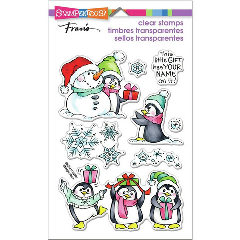 Stampendous - Penguin Gift, Leimasetti