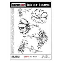 Darkroom Door - Cling Stamps, Leima, Fine Flowers