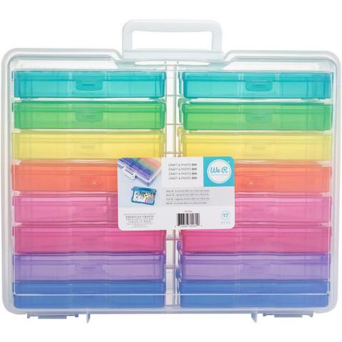WeR - Craft & Photo Storage Box, Säilytyslaatikkosetti, 17kpl
