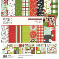 Simple Stories - Make It Merry Collection Kit 12
