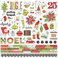 Simple Stories - Make It Merry Cardstock Stickers, 12