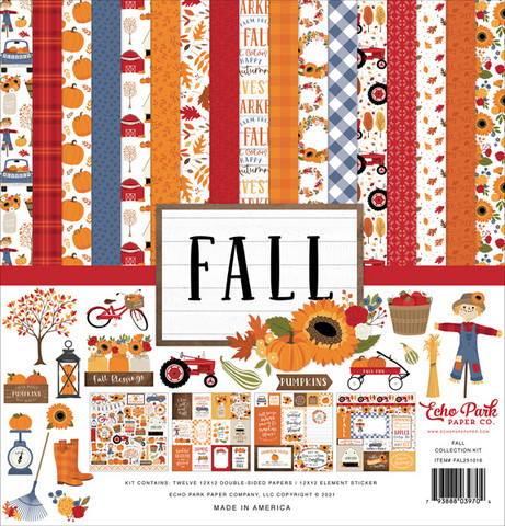 Echo Park - Fall, Collection Kit 12