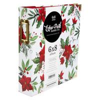 Echo Park - 6X8 Albumi, Christmas Poinsettia