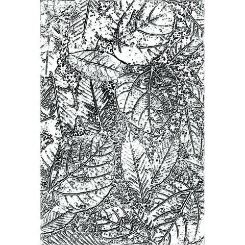 Sizzix - 3D Impresslits Embossing Folder By Tim Holtz, Kohokuviointitasku, Foliage