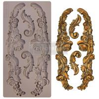 Prima Marketing - Decor Mould, Delicate Floral Strands, Silikonimuotti