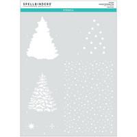 Spellbinders - Layered Christmas Tree, Sapluuna