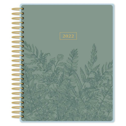 Paper House - 12-Month Dated Planner, Fern Line Art