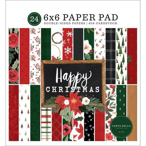 Carta Bella - Happy Christmas, Paper Pad 6