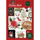 Carta Bella - Happy Christmas, Sticker Book, Tarrasetti