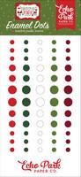 Echo Park - Christmas Magic, Enamel Dots, 60 kpl