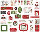 Echo Park - Christmas Magic Ephemera, Leikekuvia, 33 kpl