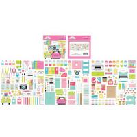 Doodlebug - Cute & Crafty, Odds & Ends Die-Cuts, 187 osaa