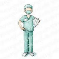 Stamping Bella - Male Nurse, Leima