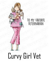 Stamping Bella - Curvy Girl Vet, Leimasetti