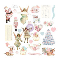 Prima Marketing - Christmas Sparkle By Frank Garcia, Cardstock Ephemera, 28 osaa