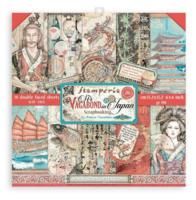 Stamperia - Sir Vagabond in Japan, Paper Pack 6