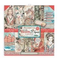 Stamperia - Sir Vagabond in Japan, Paper Pack 12