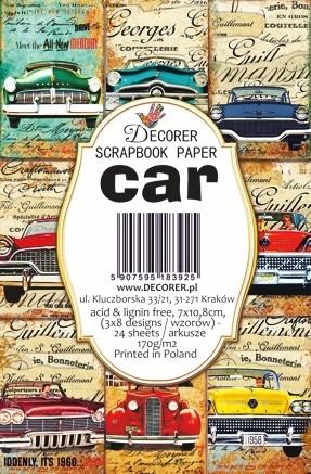 Decorer - Car, Korttikuvia, 24 osaa