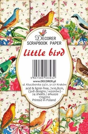 Decorer - Little Bird, Korttikuvia, 24 osaa